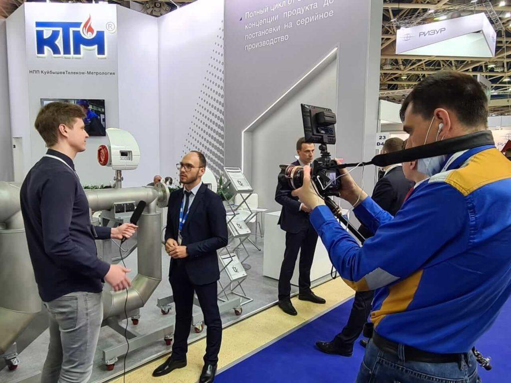 «NPP KuibishevTelecom-Metrology» took part in the 20th anniversary international exhibition «Neftegaz-2021»